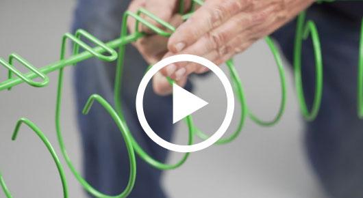 454 Series Snake Tray® Flexible Cable Tray | Snake Tray