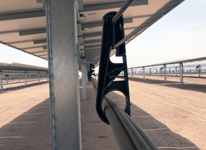 solar snap snake tray isntall