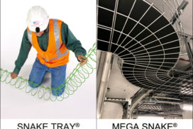 Cable Management Solutions | Prefabrication Materials | Snake Tray