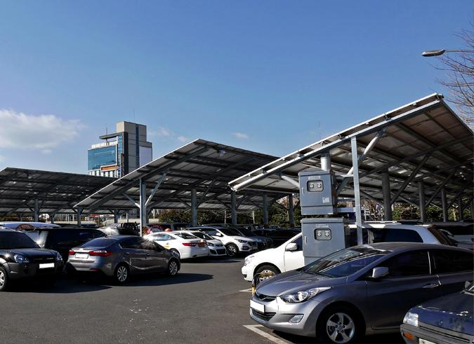 Solar Car Park Cable Management